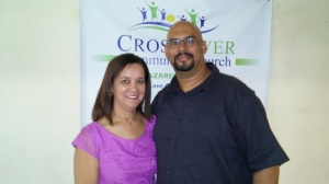 Pelham and Sharon Lessing of CrossOver Community Church of the Nazarene