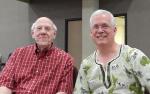 Greg with retired missionary and pastor, Rev Paul Marshall