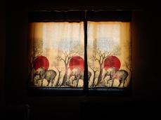 curtain elephants